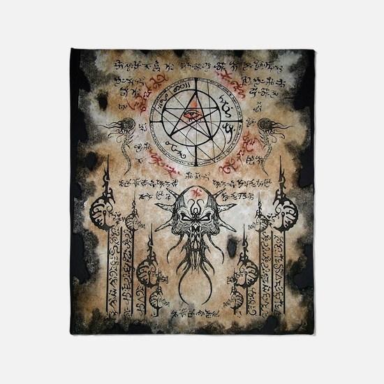 The Elder Sign Throw Blanket