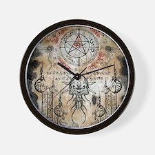 The Elder Sign Wall Clock