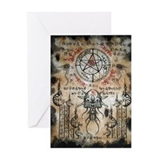 The Elder Sign Greeting Card
