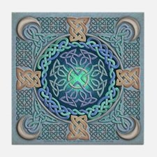 Celtic Eye of the World Tile Coaster