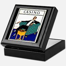 Casino Cigar Keepsake Box