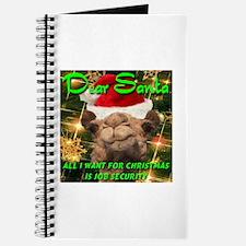 Dear Santa Hump Day Camel Job Security Journal