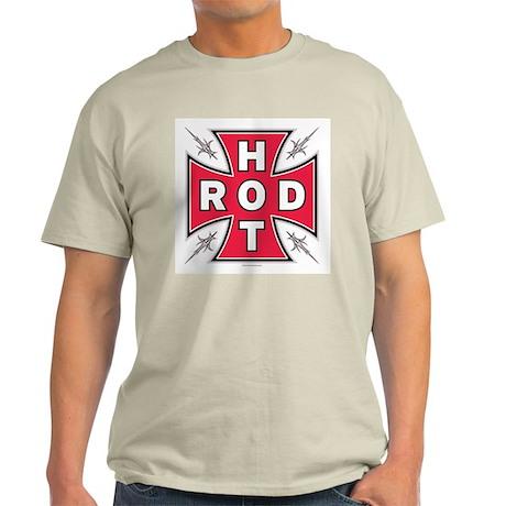HOT ROD CROSS Ash Grey T-Shirt
