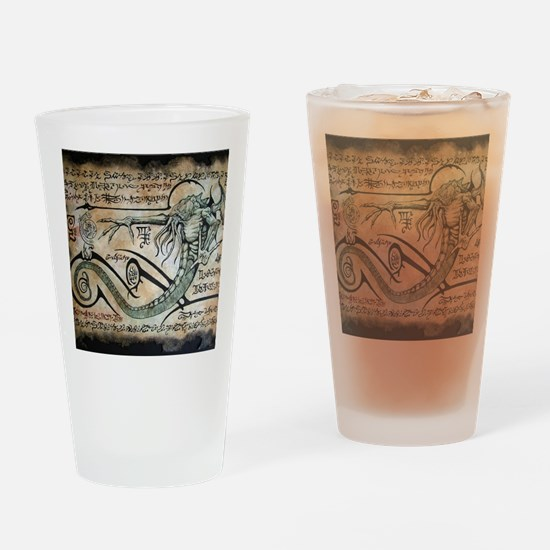 The Rituals of Cthulhu Drinking Glass