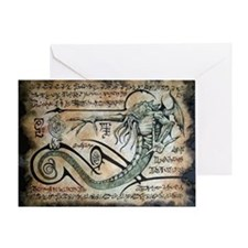 The Rituals of Cthulhu Greeting Card