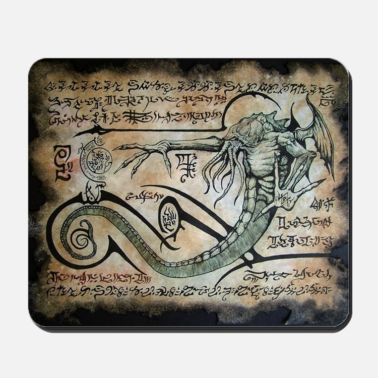 The Rituals of Cthulhu Mousepad