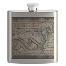 The Rituals of Cthulhu Flask