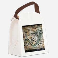 The Rituals of Cthulhu Canvas Lunch Bag