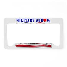 Never Forgotten Flag2MWBFC (2) License Plate Holde
