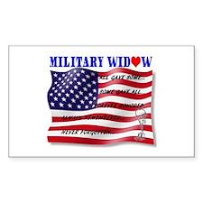 Never Forgotten Flag2MWBFC (2) Decal