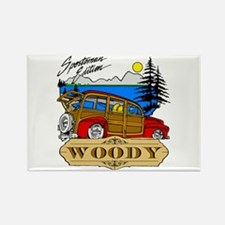 Woody Sportsman Edition Rectangle Magnet