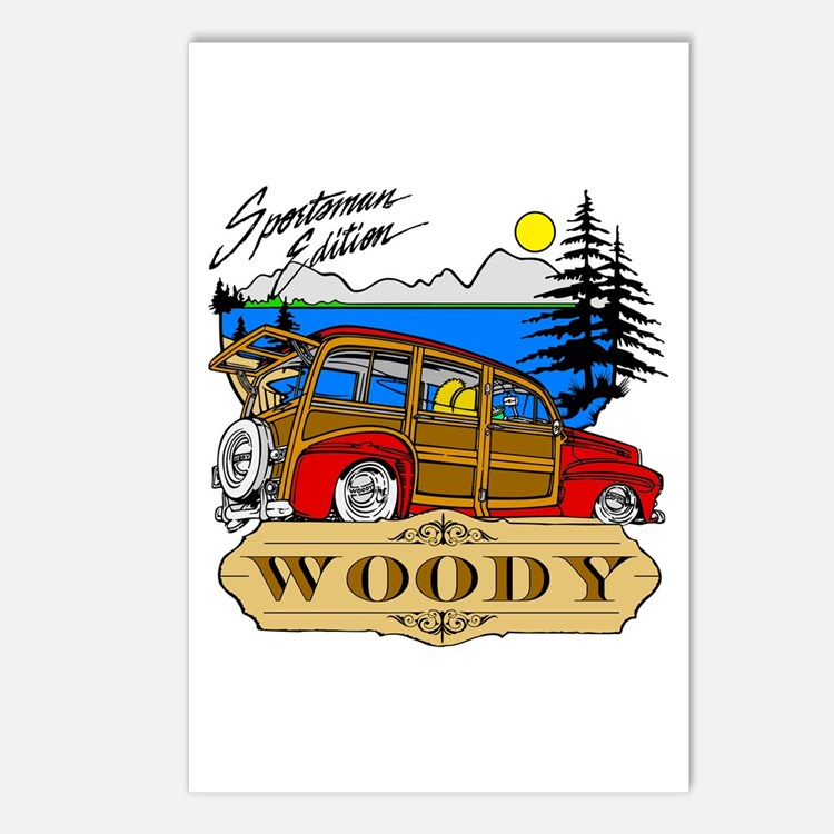 Woody Sportsman Edition Postcards (Package of 8)