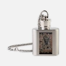 Black Lotus Visions Flask Necklace