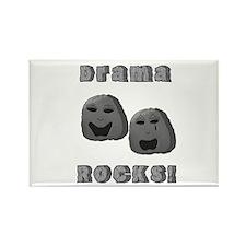 Drama Rocks Rectangle Magnet