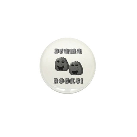 Drama Rocks Mini Button (10 pack)