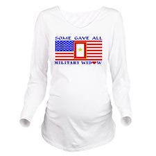 Bumpersticker3hg (2) Long Sleeve Maternity T-Shirt