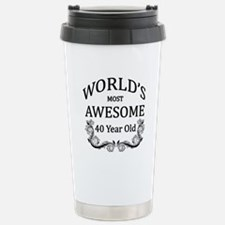 World's Most Awesome 40 Year Old Travel Mug