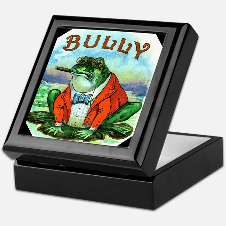 Bully Frog Keepsake Box