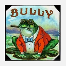 Bully Frog Tile Coaster