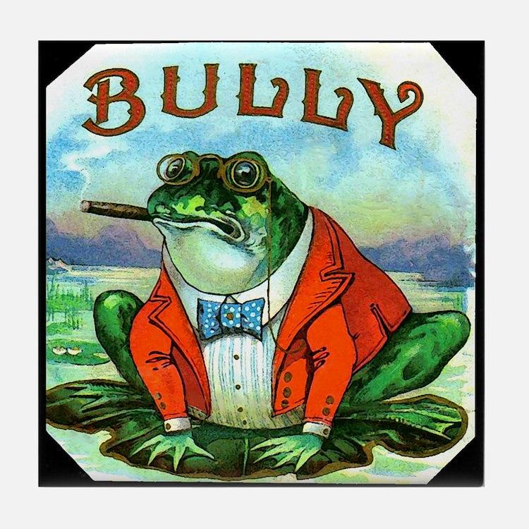 Bully Frog Tile Coaster
