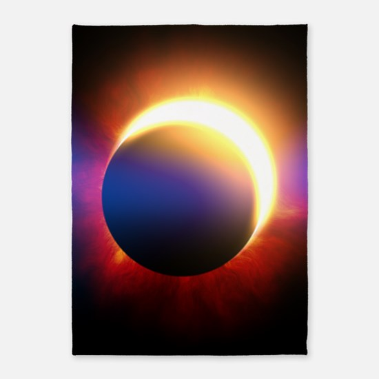 Solar Eclipse 5'x7'Area Rug