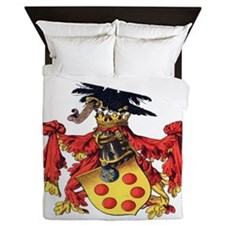 Medici Coat Of Arms Queen Duvet