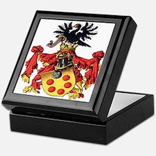 Medici Coat of Arms Keepsake Box