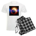 Solar Eclipse Men's Light Pajamas