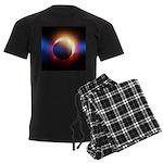 Solar Eclipse Men's Dark Pajamas