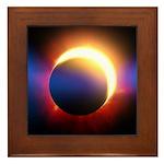 Solar Eclipse Framed Tile