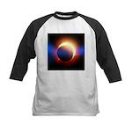 Solar Eclipse Kids Baseball Jersey