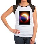 Solar Eclipse Women's Cap Sleeve T-Shirt