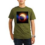 Solar Eclipse Organic Men's T-Shirt (dark)