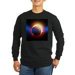 Solar Eclipse Long Sleeve Dark T-Shirt