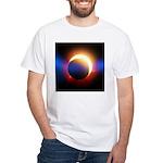 Solar Eclipse White T-Shirt