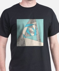 Geometric Shapes Abstract T-Shirt