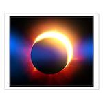 Solar Eclipse Small Poster