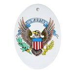 U.S. Army Eagle Oval Ornament