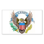 U.S. Army Eagle Rectangle Sticker