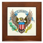 U.S. Army Eagle Framed Tile