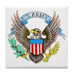 U.S. Army Eagle Tile Coaster