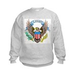 U.S. Army Eagle (Front) Kids Sweatshirt