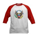 U.S. Army Eagle (Front) Kids Baseball Jersey