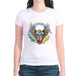 U.S. Army Eagle (Front) Jr. Ringer T-Shirt