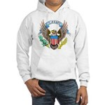 U.S. Army Eagle (Front) Hooded Sweatshirt