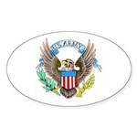 U.S. Army Eagle Oval Sticker