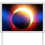 Solar Eclipse Yard Sign