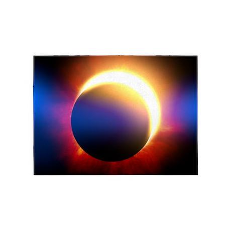 Solar Eclipse 5'x7'Area Rug