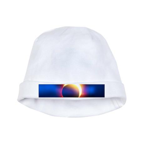 Solar Eclipse baby hat