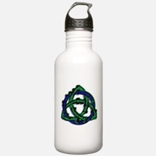 Abstract Triquetra Water Bottle